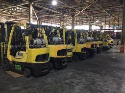 36 ea. Hyster Forklifts